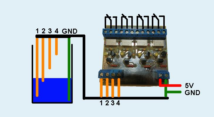 Сигнализатор уровня воды
