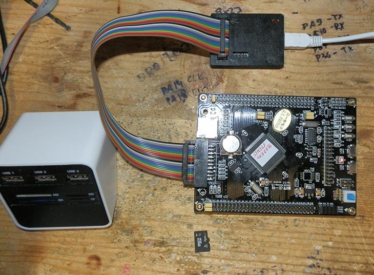 Подключение SD карты к STM32 через 4-х битный интерфейс SDIO
